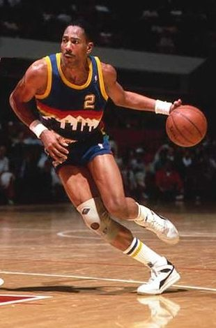 Alex English, máximo anotador de la NBA en los 80
