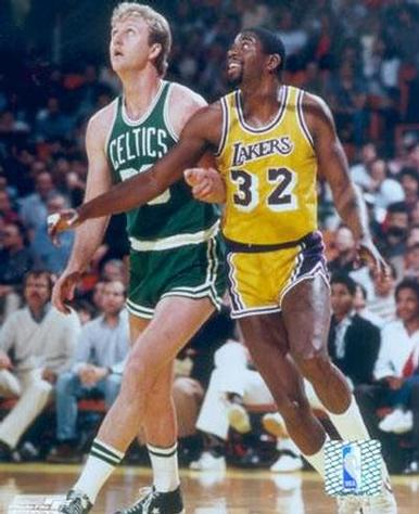 Larry Bird vs Magic Johnson, el mejor duelo de los 80.