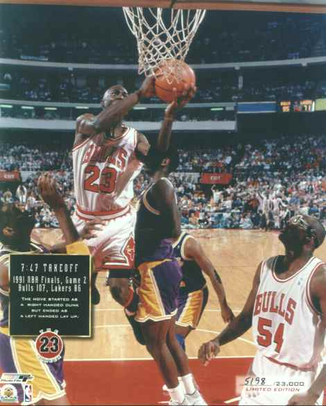 Jordan contra Lakers 91