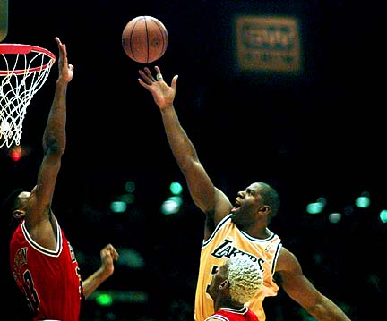 Magic Johnson vs Pippen