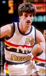 Bill Hanzlik, alero currante de los Nuggets.