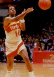 John Battle base/escolta de los Atlanta Hawks entre 1985-1991