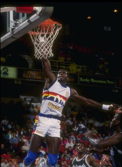 Orlando Woolridge con Denver Nuggets